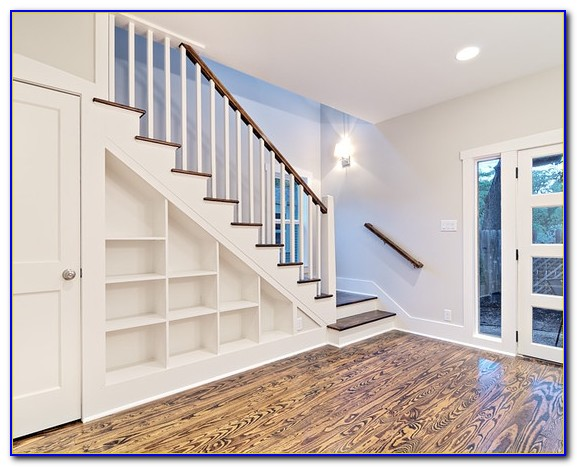 Under Stairs Bookcase Door