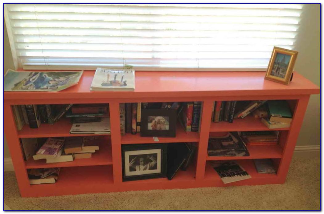 Under The Window Bookshelf