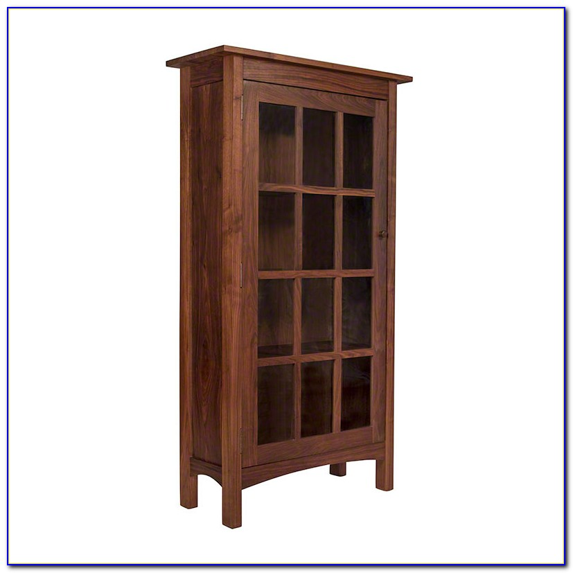 Unfinished Wood Bookcases With Glass Doors