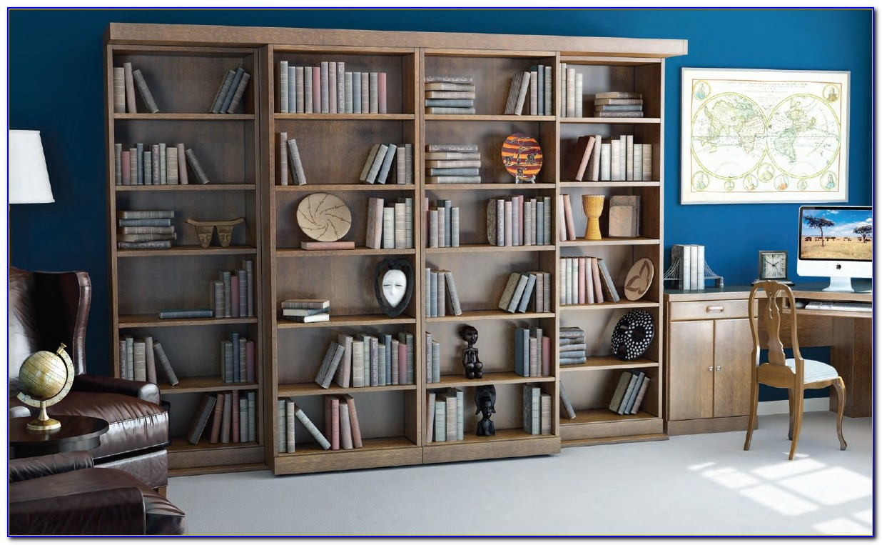 Wall Bed With Bookcase