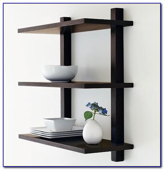 Wall Mounted Bookcase Shelf