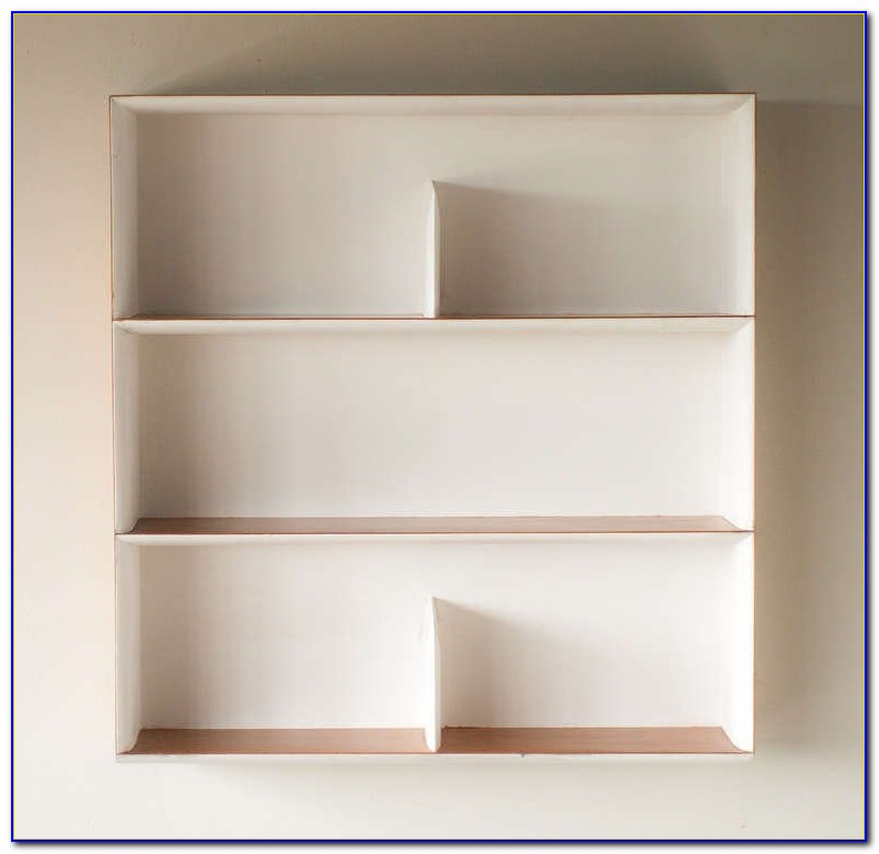 Wall Mounted Bookcases With Doors
