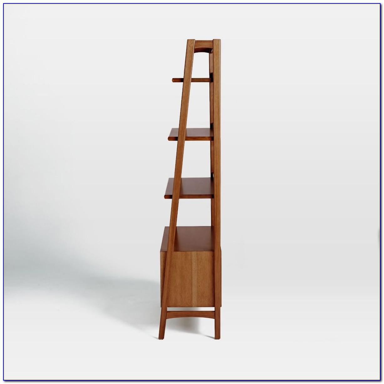 West Elm Herringbone Spine Bookcase