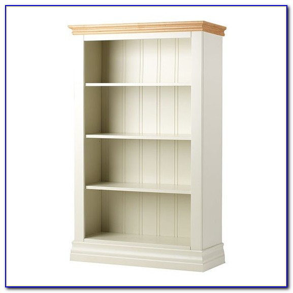 White Country Style Bookcases