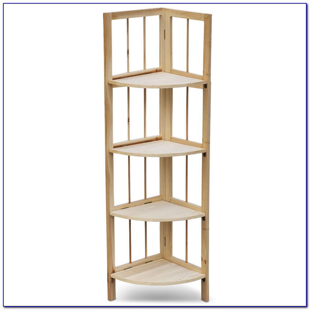 White Painted Oak Bookcase