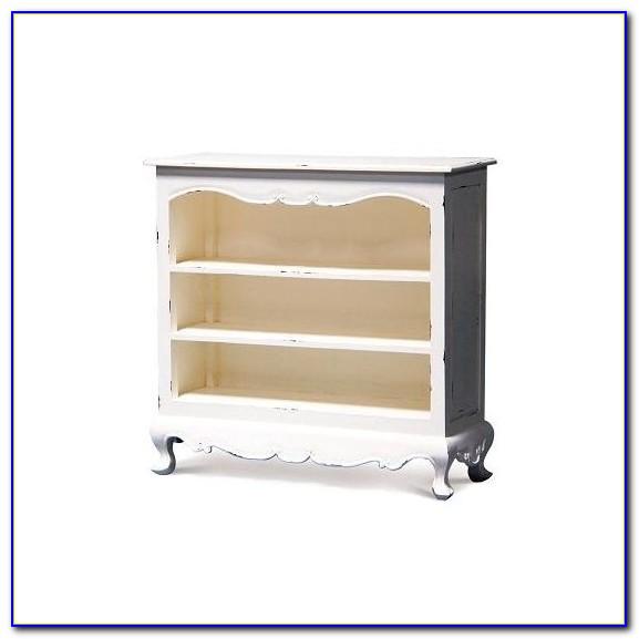 White Queen Anne Bookcase