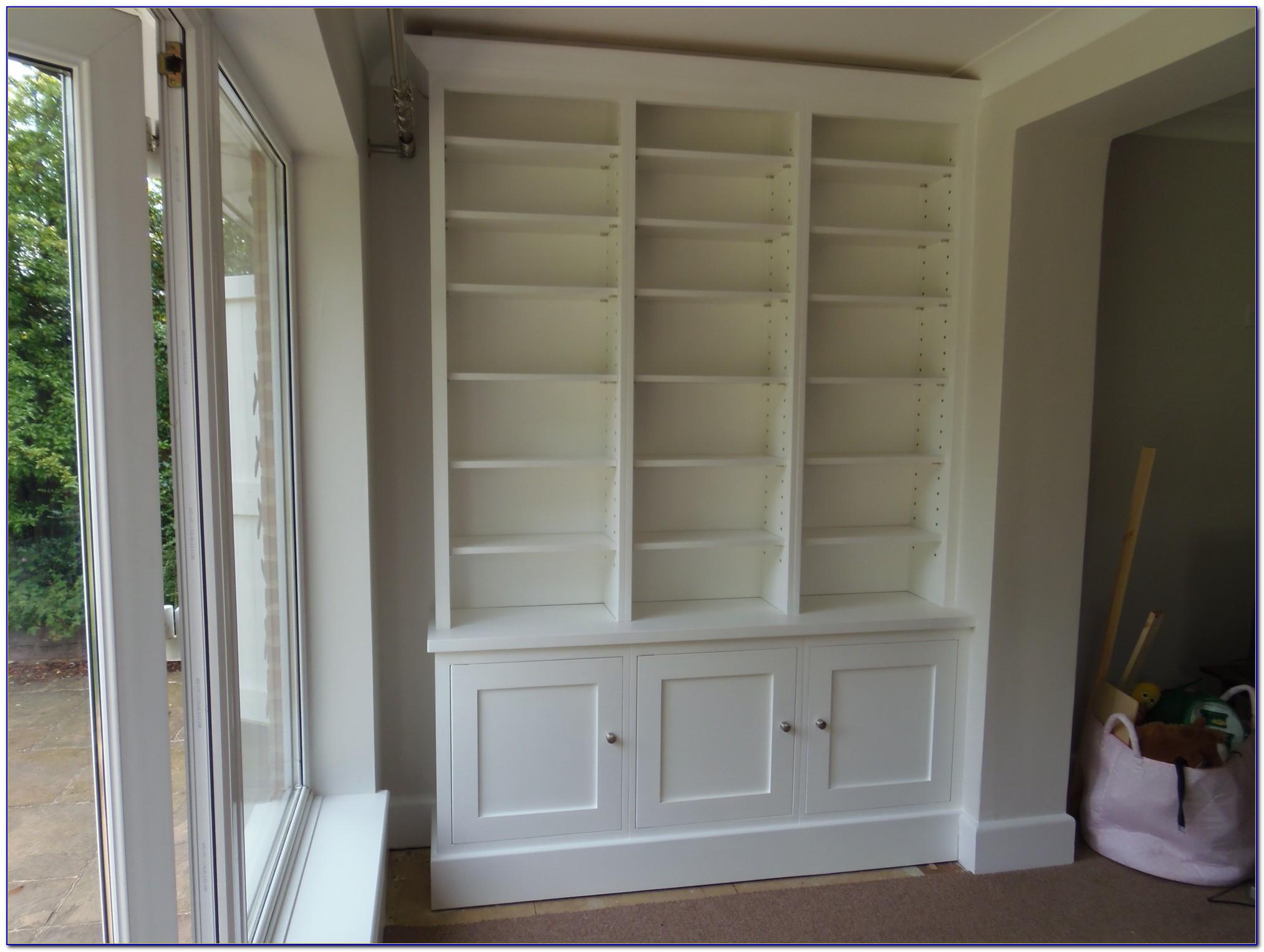 White Shaker Style Bookcase