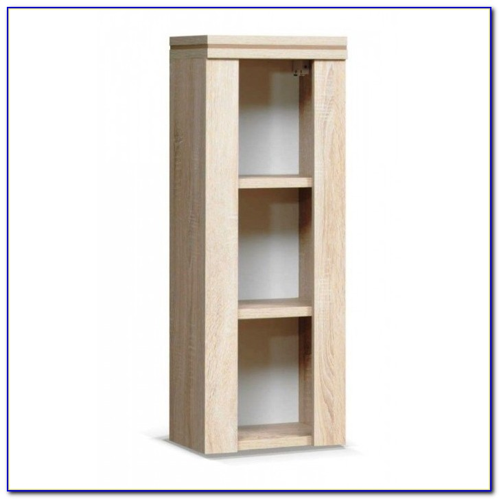 White Wall Mounted Bookcases