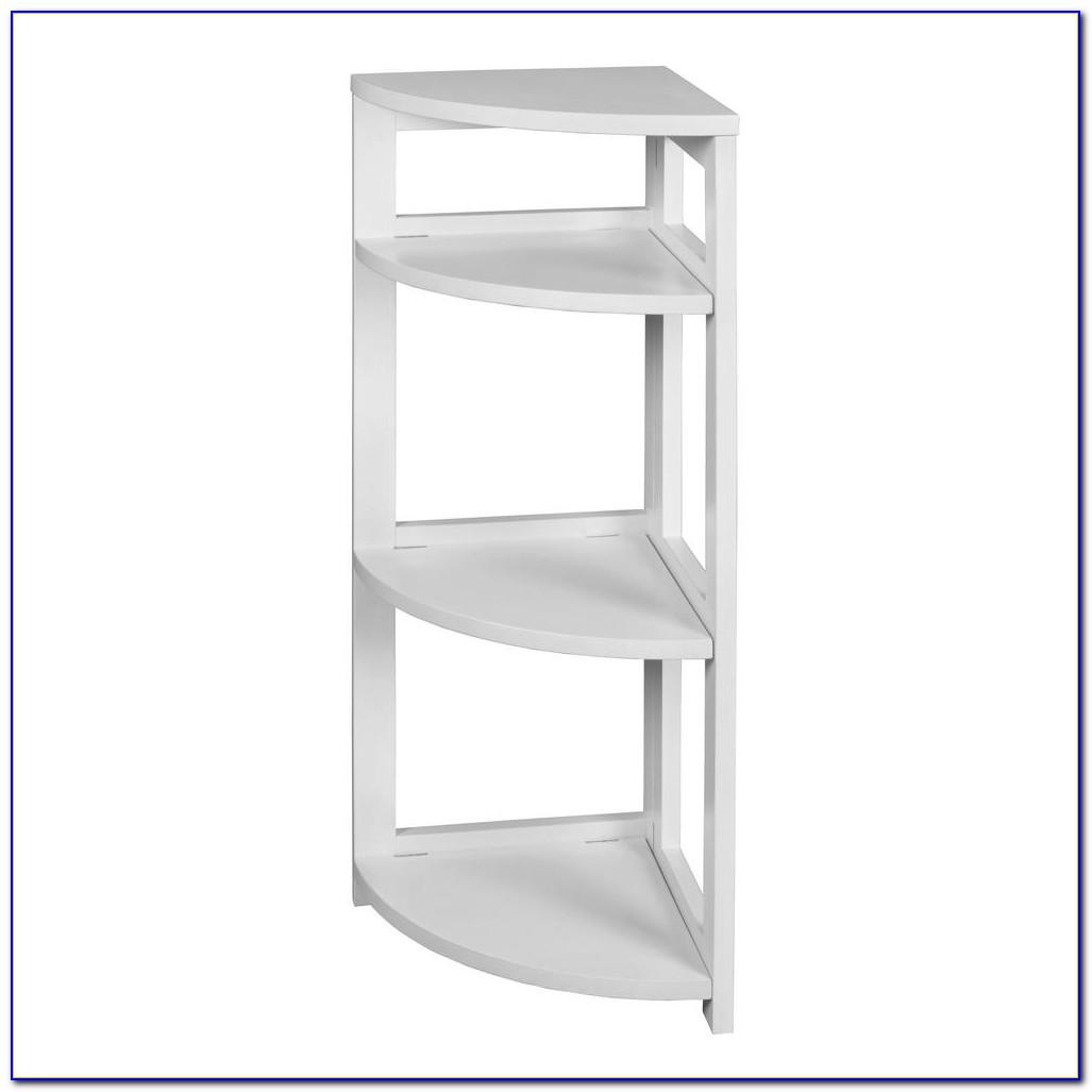 White Washed Oak Bookcase