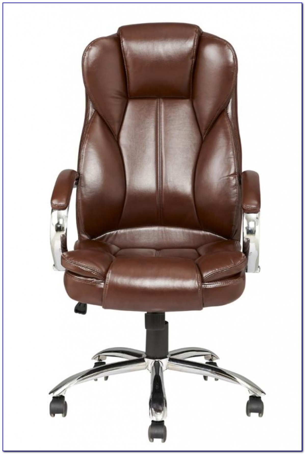 Wicker Swivel Office Chair