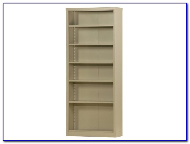 Wood Bookcase With Adjustable Shelves