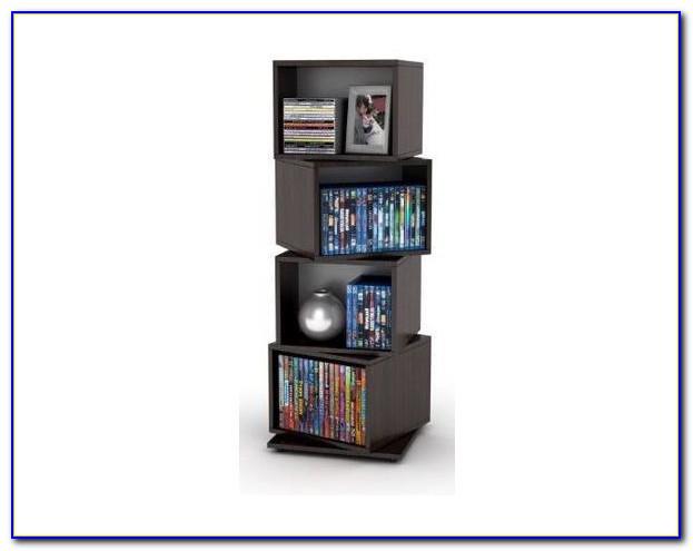 Wood Carousel Revolving Bookcase