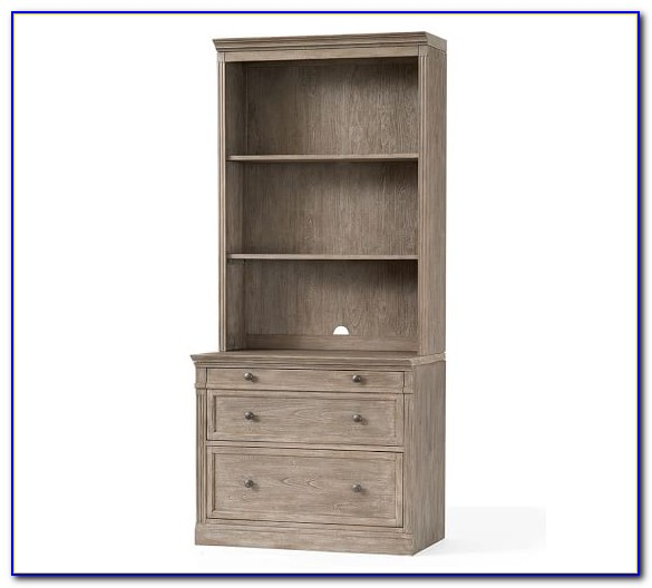 Wood File Cabinet Bookcase