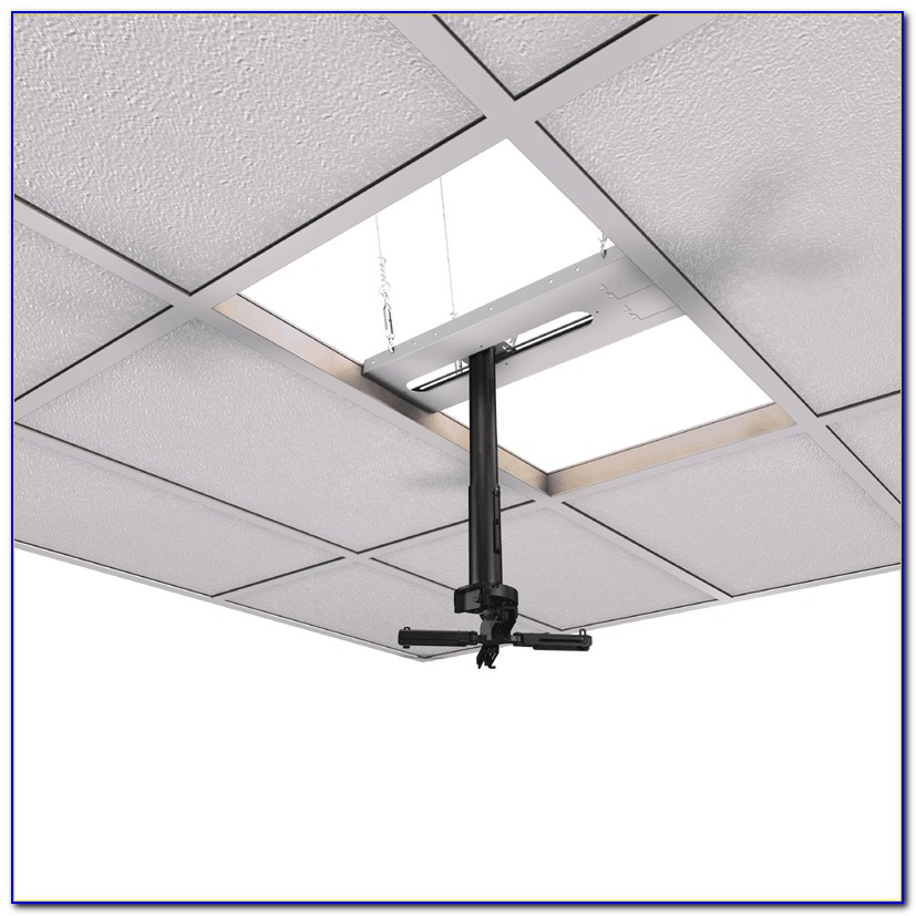 2x2 Drop Ceiling Projector Mount