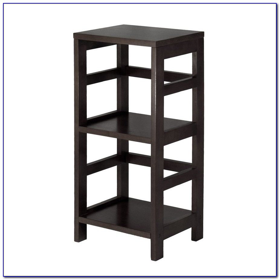 3 Shelf Bookcase Dark Wood