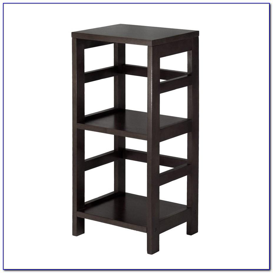 3 Shelf Bookcase Dark Wood