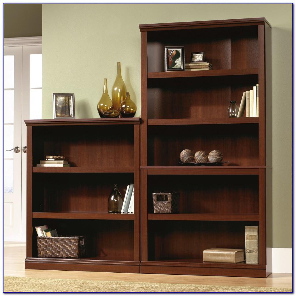 3 Shelf Cherry Wood Bookcase
