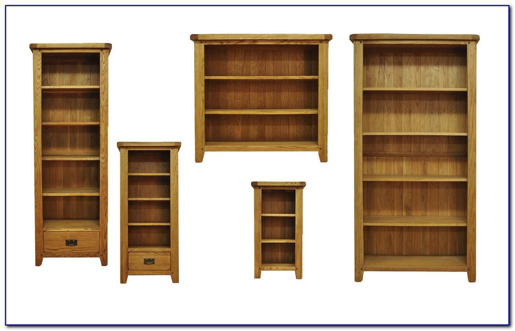 70cm Wide Oak Bookcase