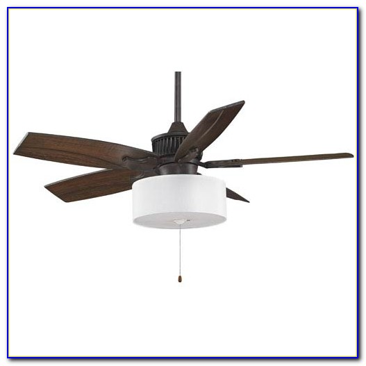 Allen Roth Drum Shade Ceiling Fan