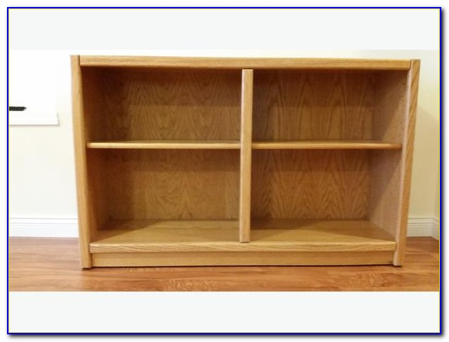 Argos Oak Veneer Bookcase