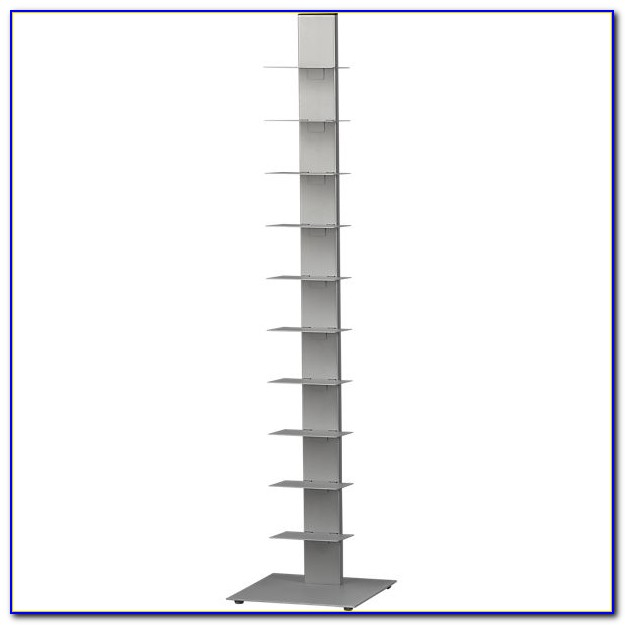 Array Silver Bookcase Cb2
