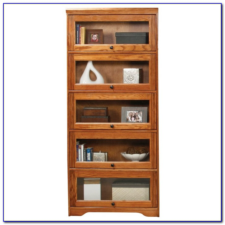 Barrister Bookcases Glass Doors