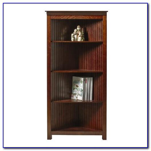 Beadboard Wall Bookcase