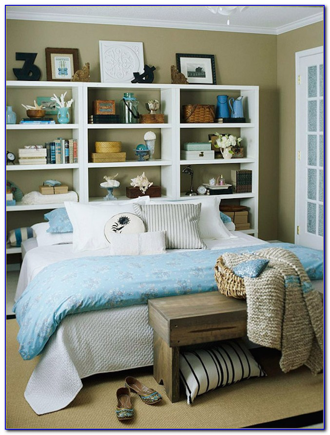Billy Bookcase As Headboard