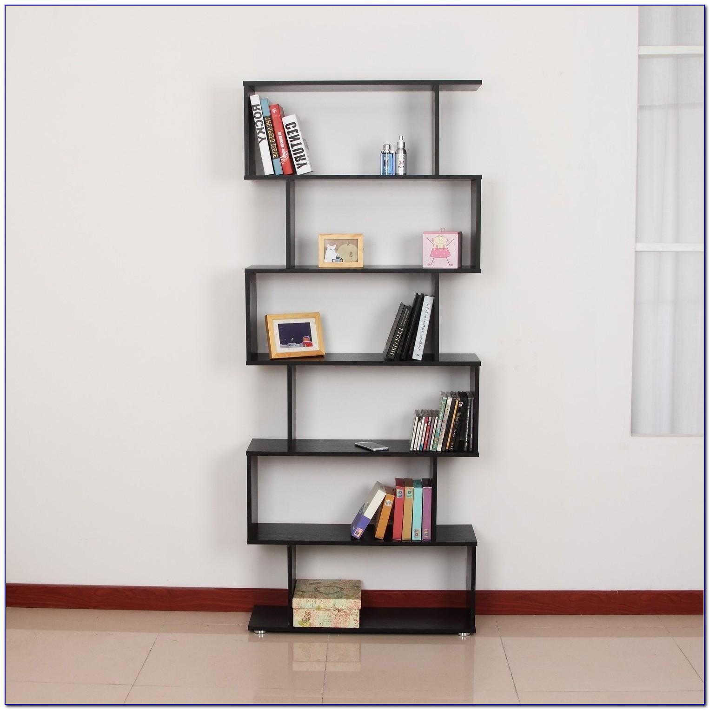 Black S Shaped Bookcase