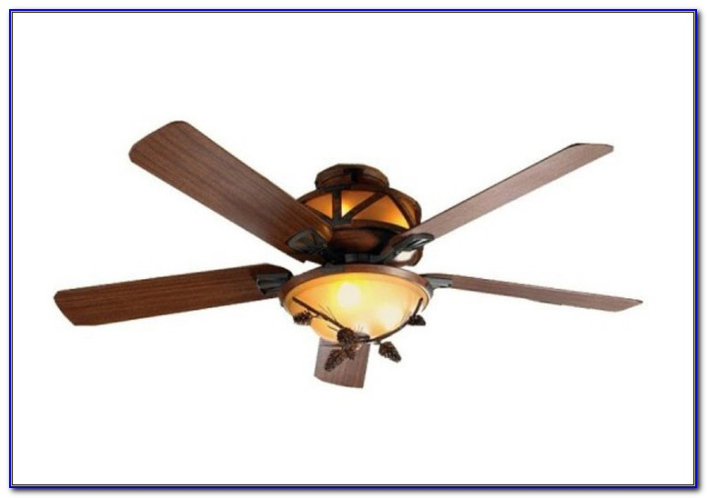 Black Wrought Iron Ceiling Fan With Light