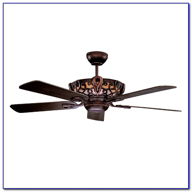 Black Wrought Iron Ceiling Fan