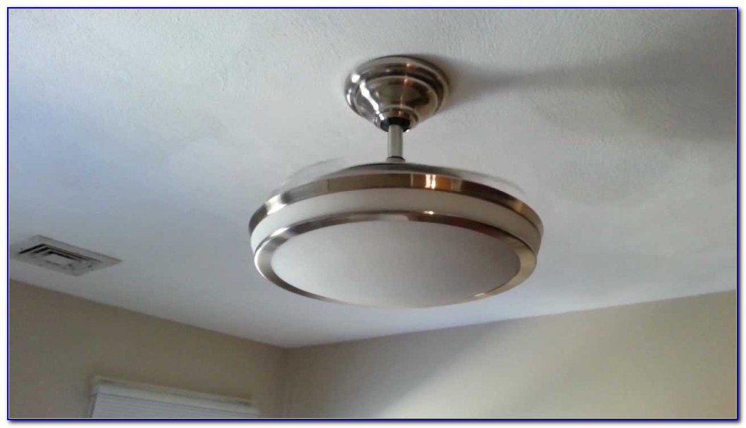 Bladeless Ceiling Fan With Led Light