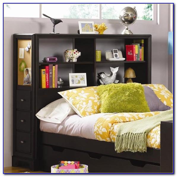 Bookcase As Headboard Ideas