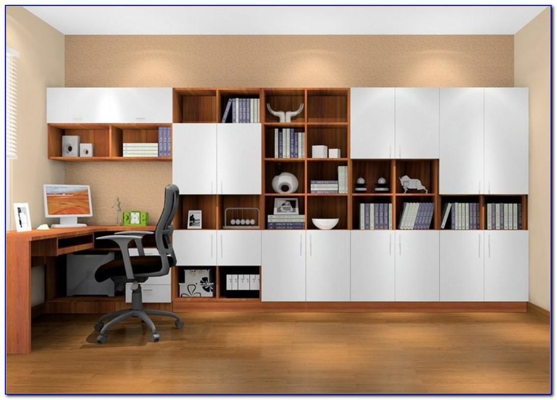 Bookcase Desk Combination