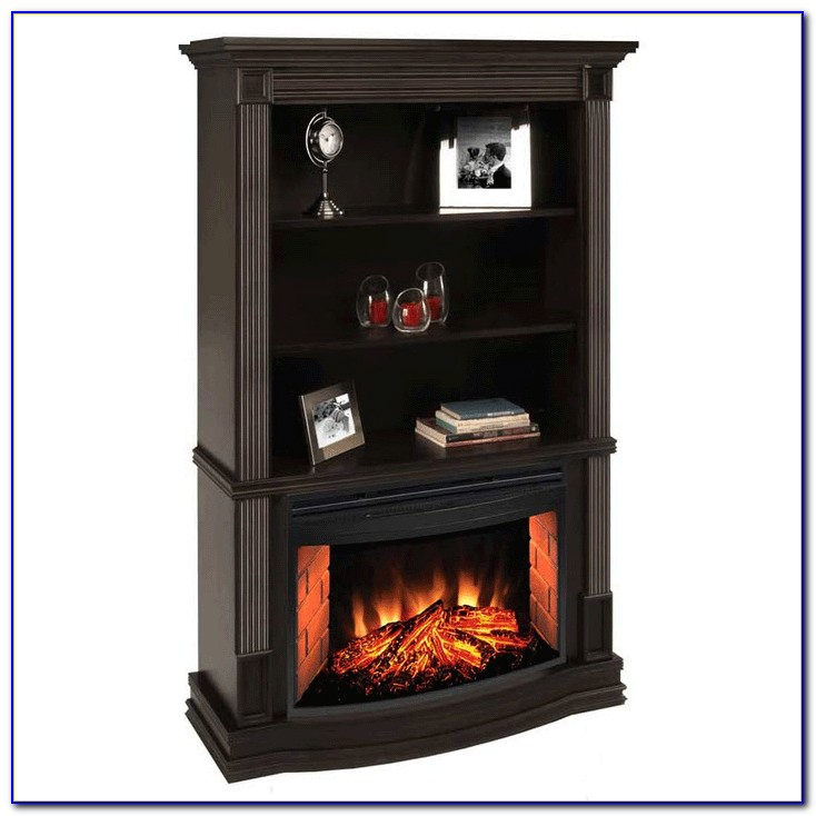 Bookcase Electric Fireplace
