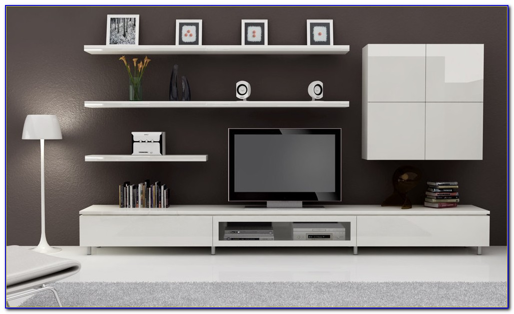 Bookcase Entertainment Wall Unit