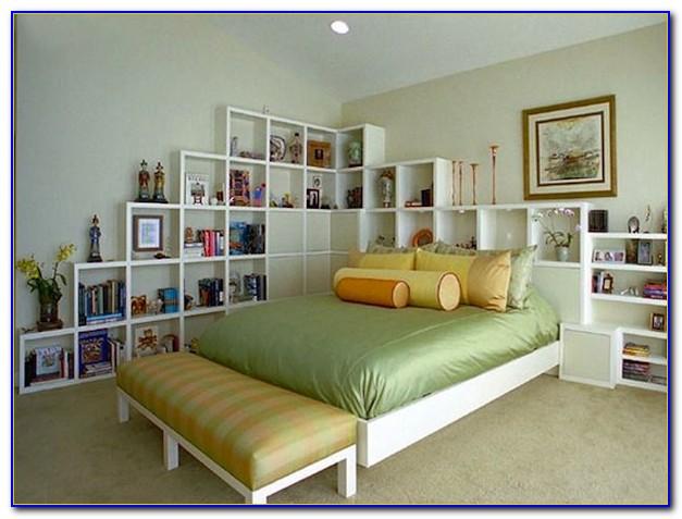 Bookcase Headboard Full