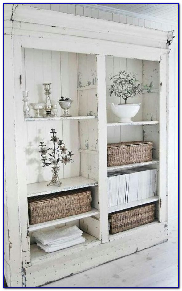 Bookcase Shabby Chic