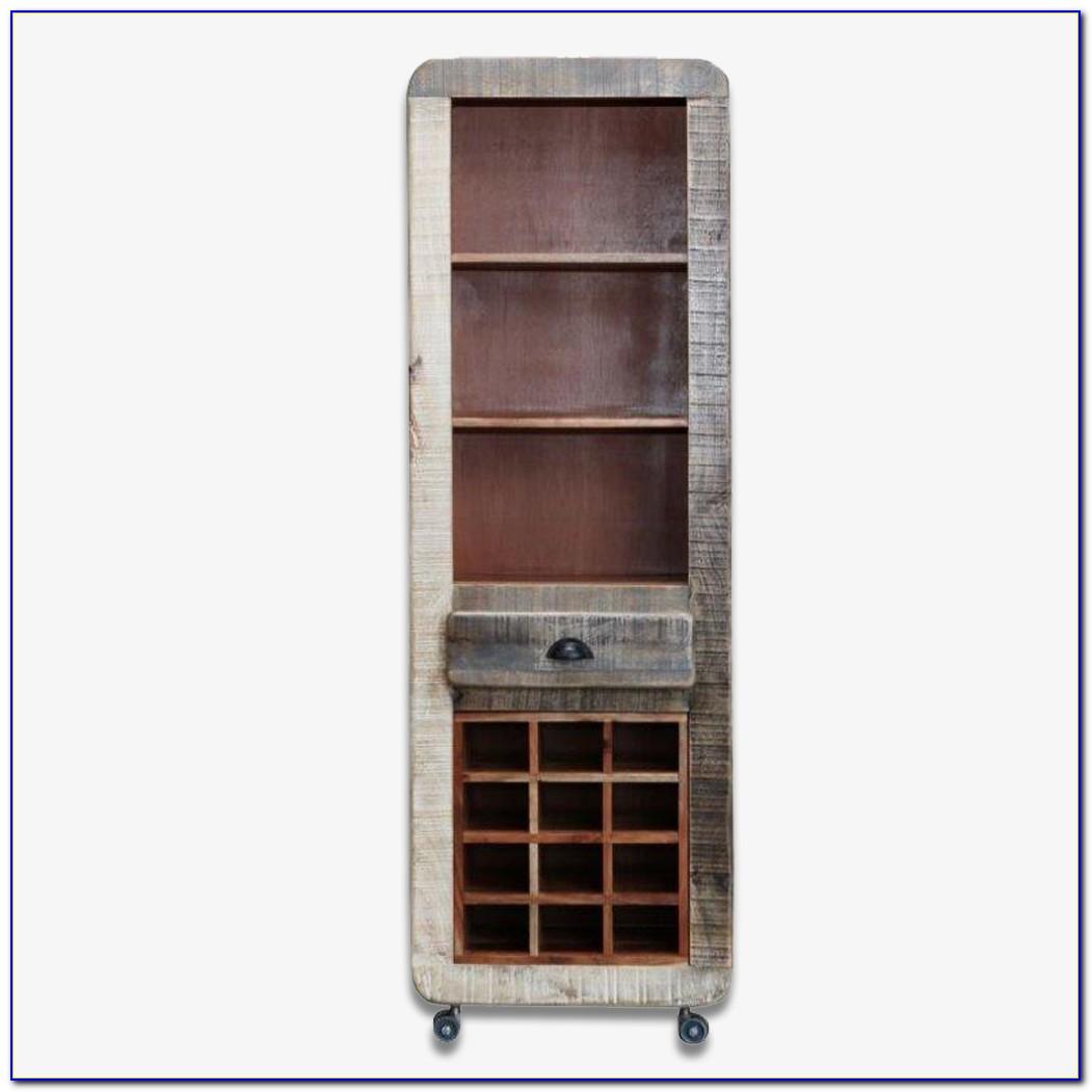 Bookcase Wine Rack Combo