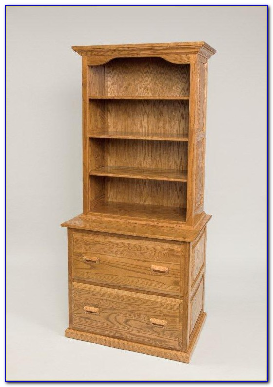 Bookcase With Cupboard Below