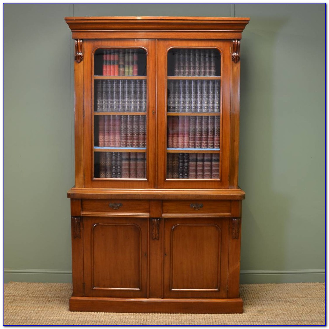 Bookcase With Cupboard Uk