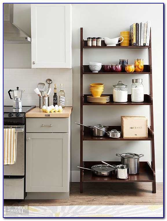 Bookcase With Doors For Kitchen
