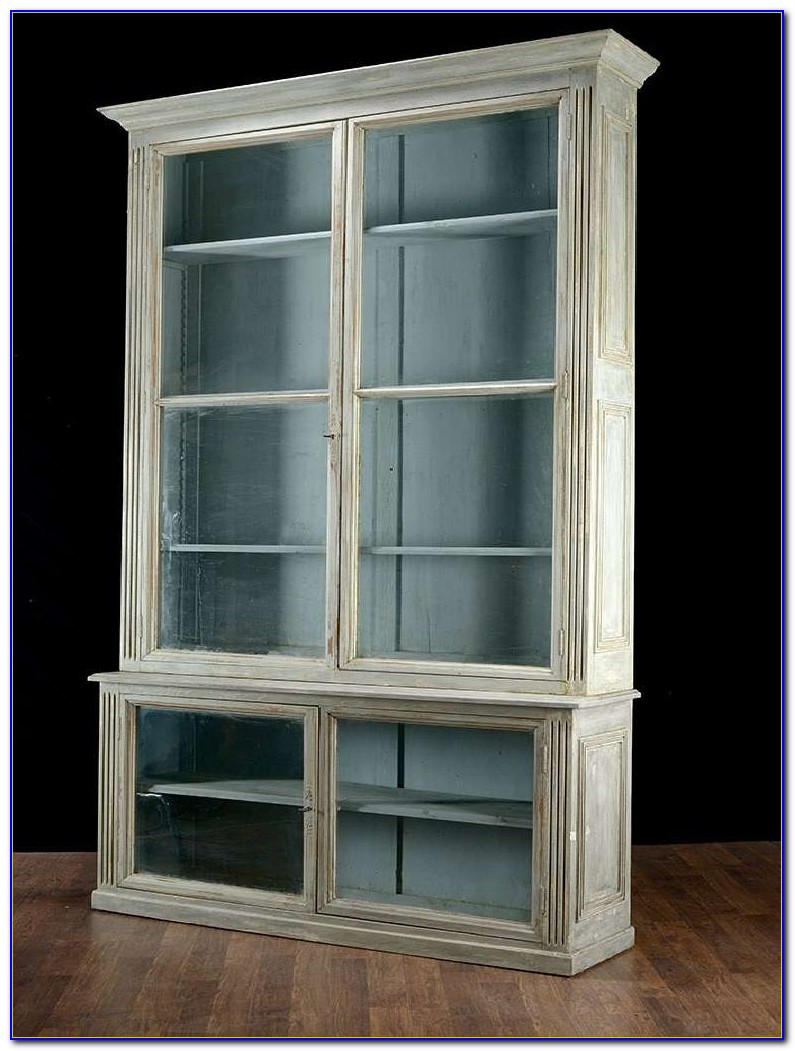 Bookcases With Glass Doors Canada