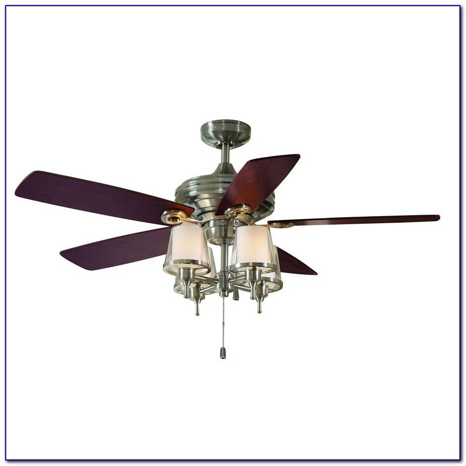 Brushed Nickel Ceiling Fan Blade Arms
