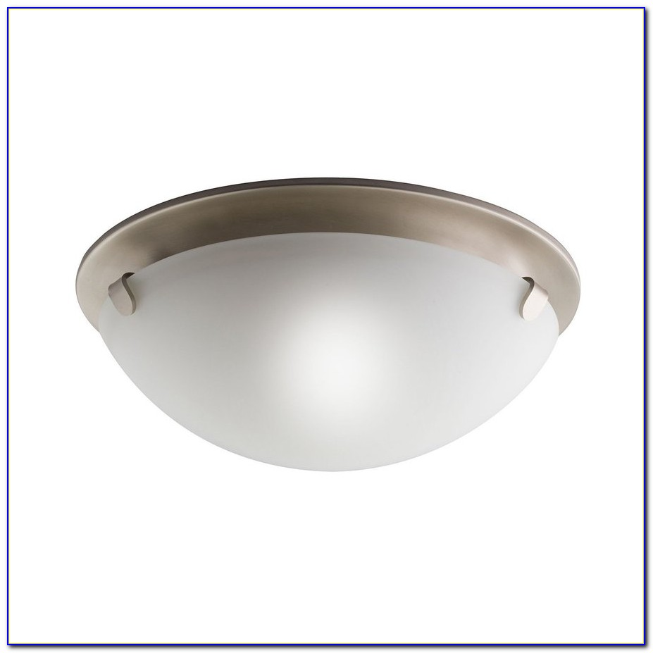 Brushed Nickel Ceiling Light Canopy