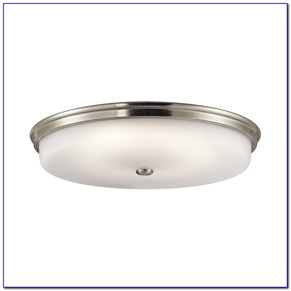 Brushed Nickel Led Ceiling Light