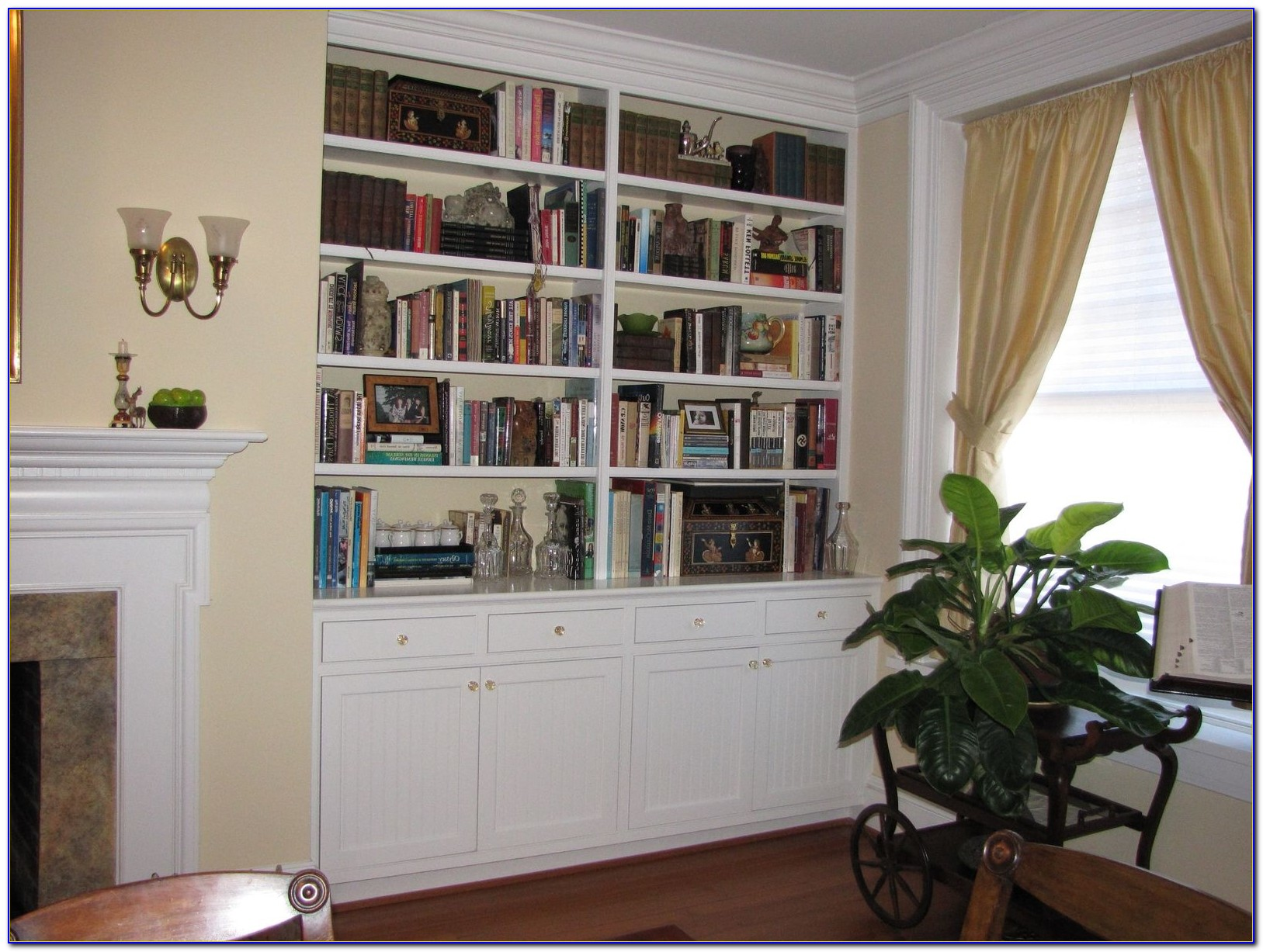Build Bookcase In Alcove