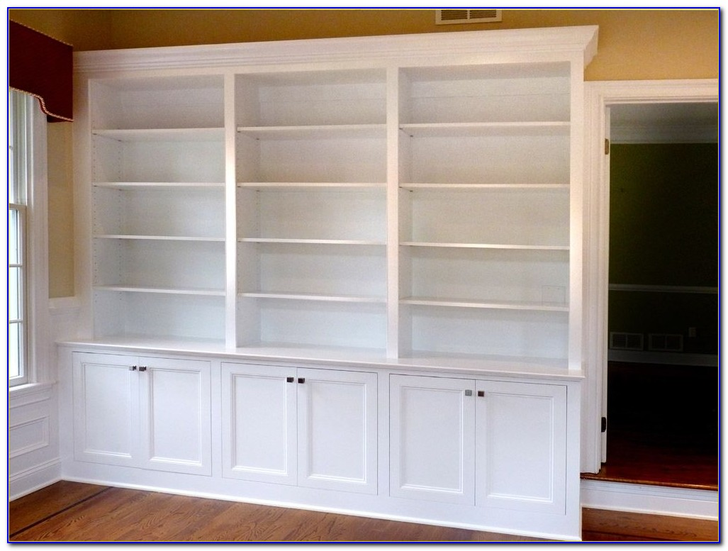 Build Bookcase In Wall