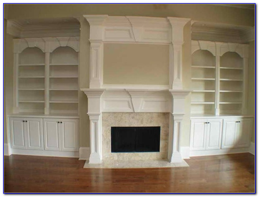 Build Fireplace Bookcase Surround