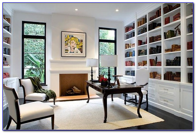 Built In Bookcase Crown Molding